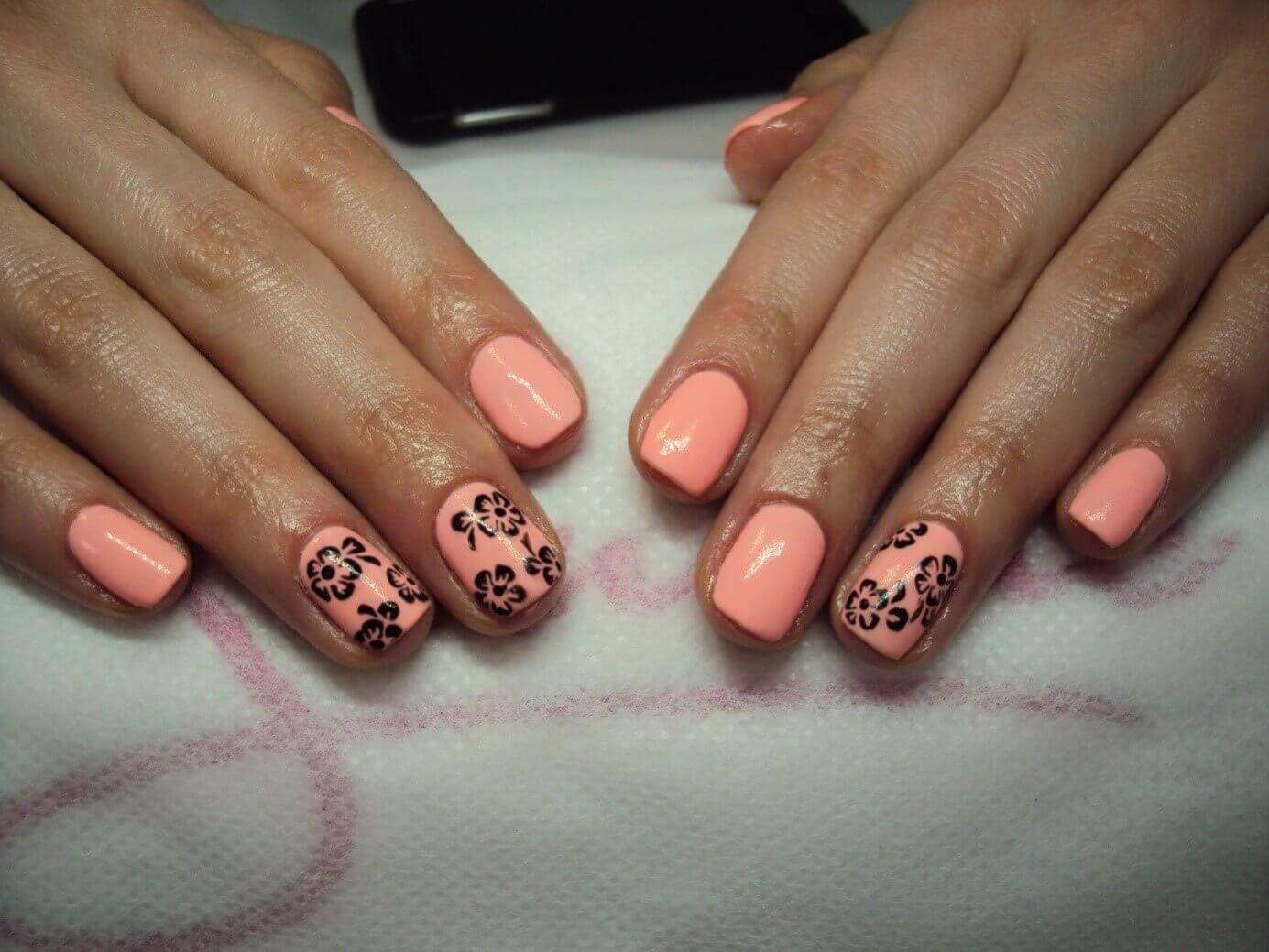Efekt końcowy przygotowywania paznokci hybrydowych