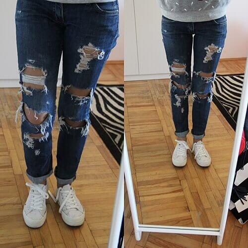 Dziurawe spodnie 2