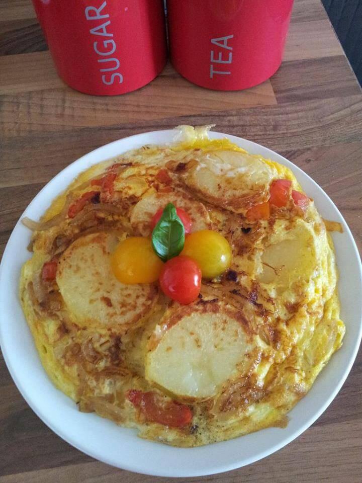 Przepis na tortilla ziemniaczana