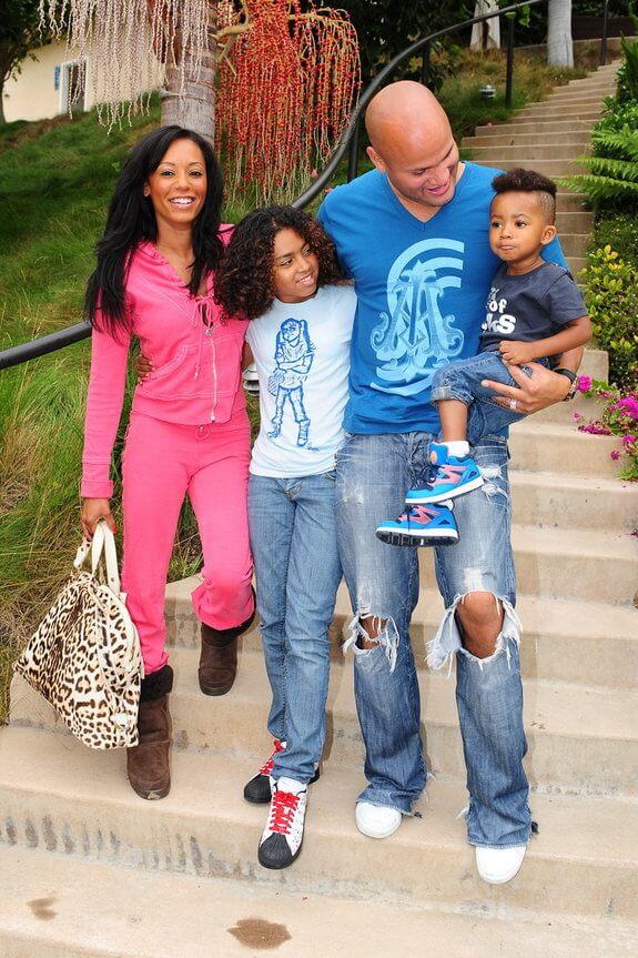 mel-b-and-family