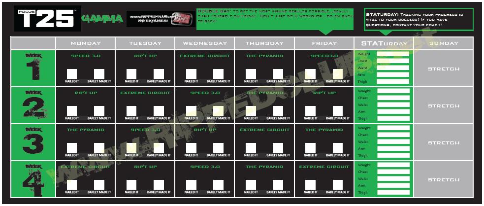Focus-T25-Gamma-Phase-Calendar