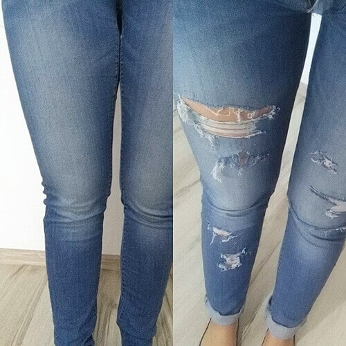 Dziurawe spodnie 1