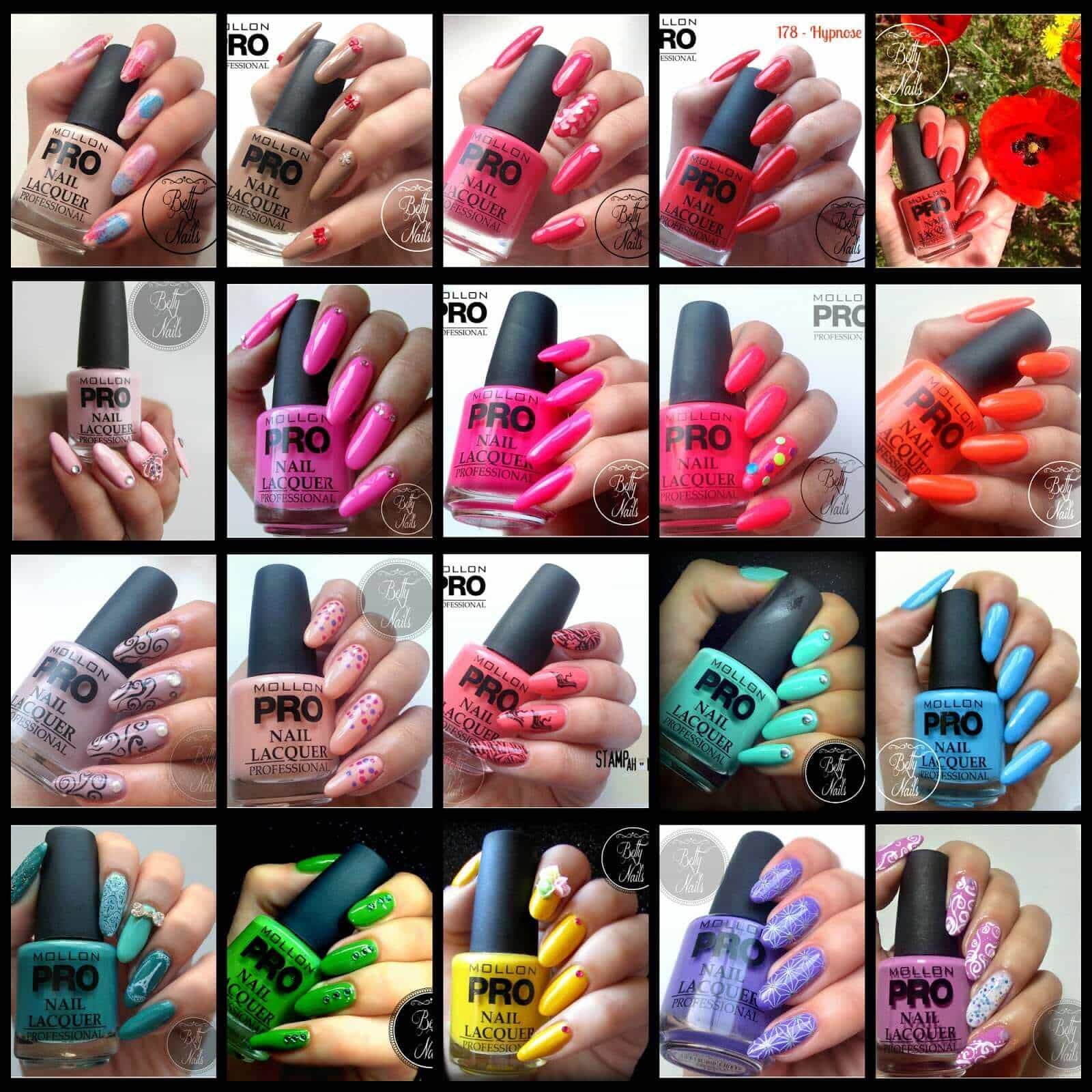 Mollon Pro Spring Collection 2014_complete swatches