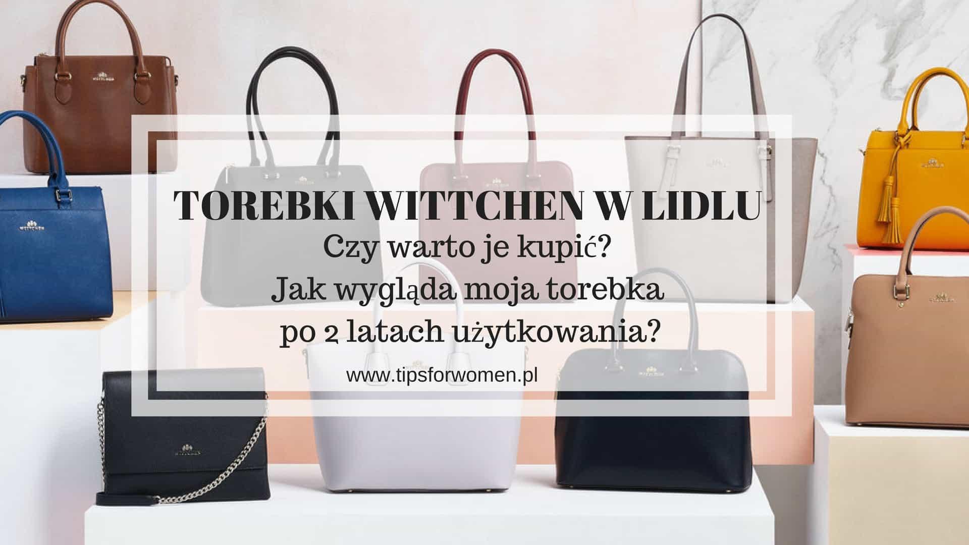 8834da938e9f0 Torebki Wittchen w Lidlu - Warto kupić
